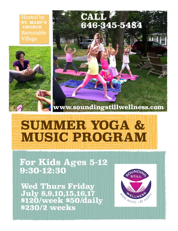 Yoga kids program 2015